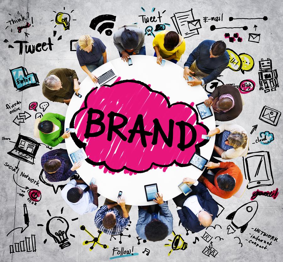 podcast branding concept
